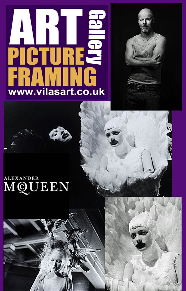 ICAS Art gallery picture framing Alexander Mcqueen Collection copy