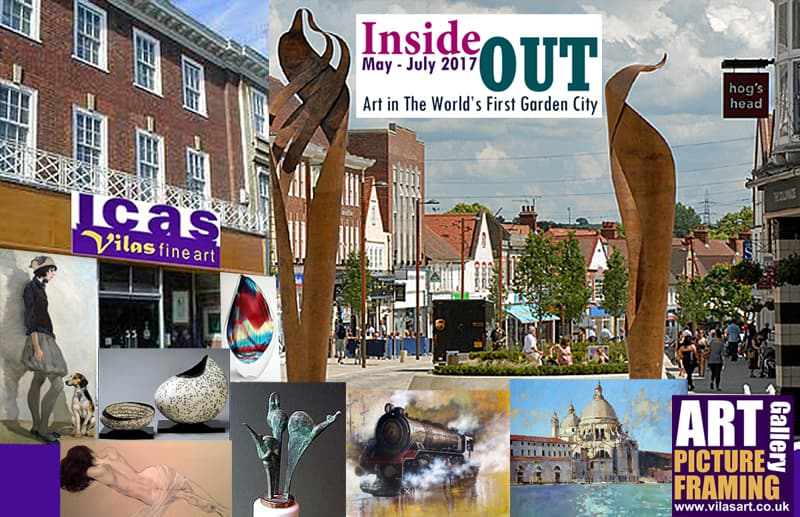 ICas Letchworth Inside Out 2017 exhibition