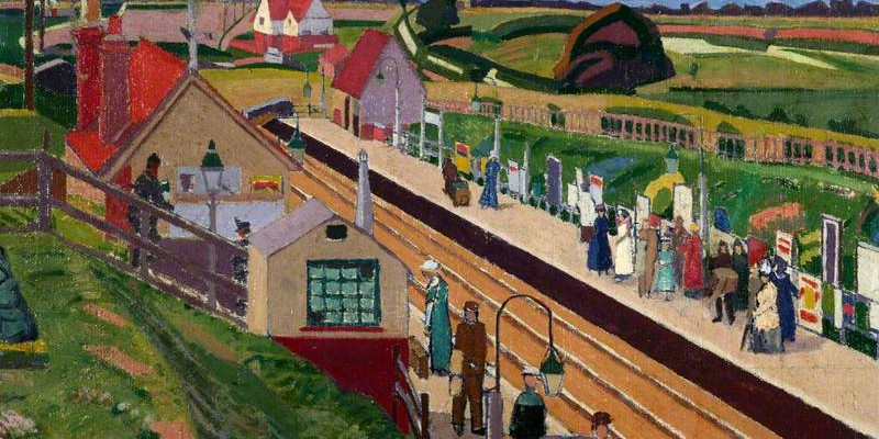 The Station Letchworth by Spencer Gore