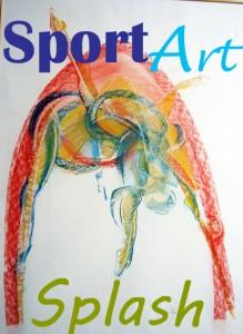 Sport art banner
