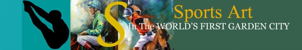 Sports Art in the Worlds First Garden City