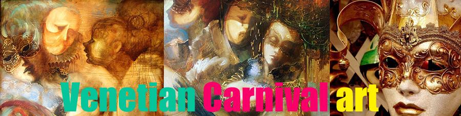 Venetian Carnival art
