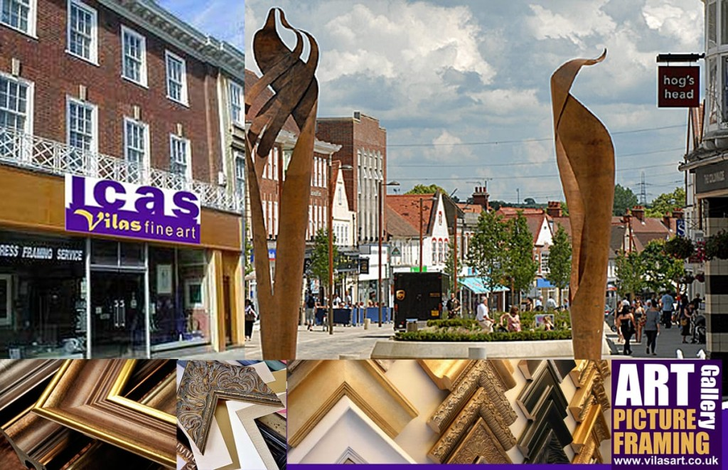 ICAS gallery art and picture framers Letchworth