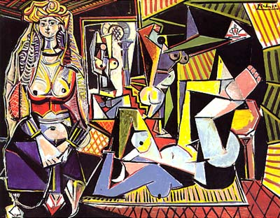PabloPicasso-Women-of-Algiers-after-Delacroix-1955