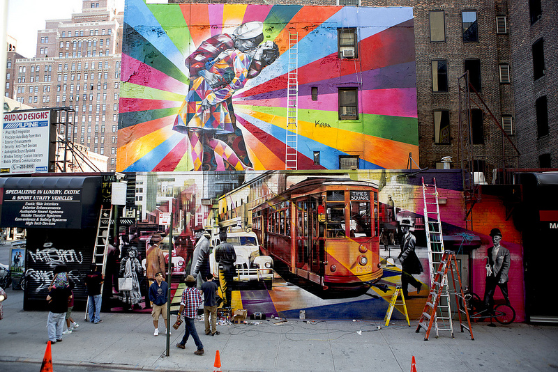 Massive Mural by Kobra